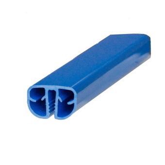 1100 x 550 cm Pool Handlauf Ovalbecken standard blau