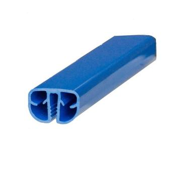 855 x 500 cm Pool Handlauf Achtformbecken Standard blau