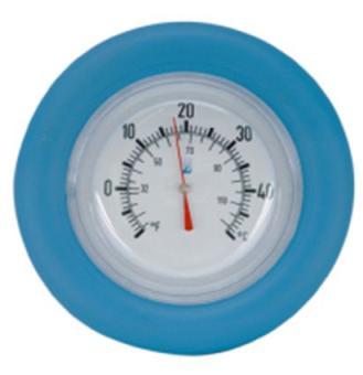 Badethermometer rund mit Schwimmring