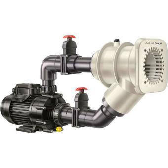 Einbau Gegenstromanlage Aqua Flow mit Luftregulierung