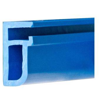 PVC Befestigungsleiste blau