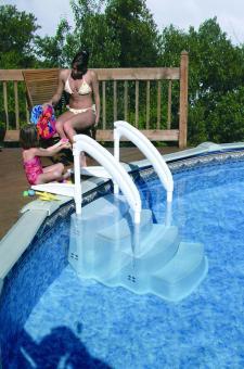 Pool Einstelltreppe, Schwimmbadtreppe