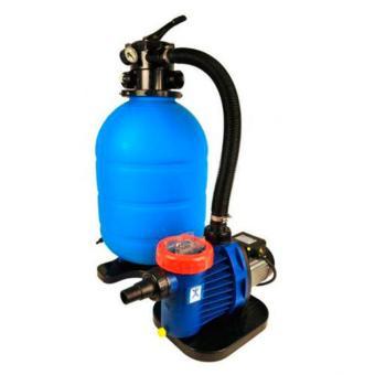 Sandfilteranlage Pro Aqua 400 mit i-Plus 55 Pumpe Sandfilteranlage Pro Aqua 400 - i-Plus 55