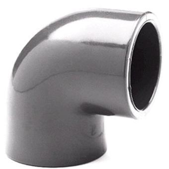 PVC U Winkel 90 Grad - 50 mm PVC Winkel 50 mm