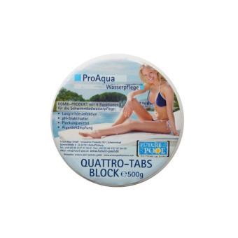 Quattro Tabs Block Pro Aqua 0,5 kg