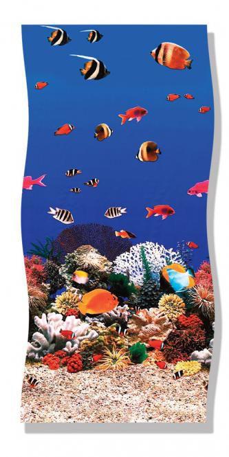 3 50 x 0 90 m schwimmbadfolie aquariumoptik online kaufen for Poolfolie blau