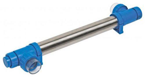 Wasserdesinfektion mit UV-Lampe spart Wasserpflegemittel